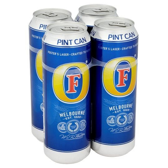 Fosters Pint 4 pack